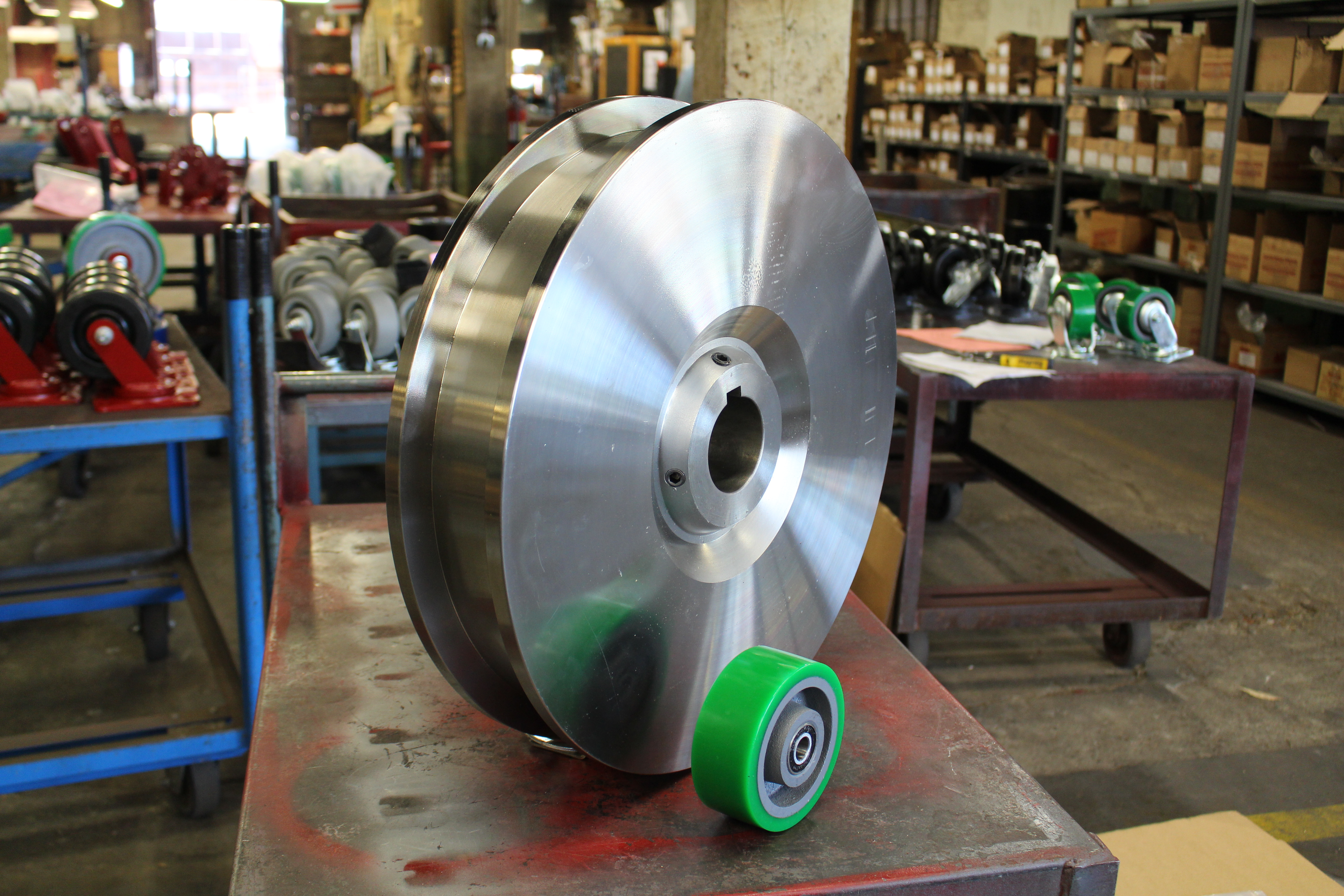 Flanged-Track-Wheel