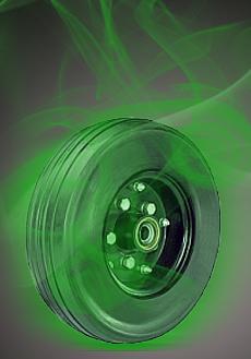 'Green Lantern' Rescued by Hamilton Wheels