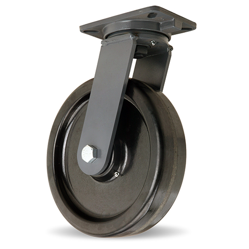 SWIVEL CASTER CH 12 X 3 PLASTEX WHEEL