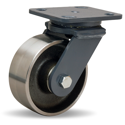SWIVEL CASTER WH 5X2 FORGED STEEL