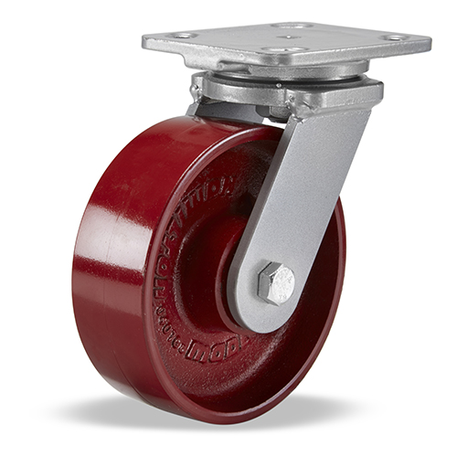 SWIVEL CASTER WH 6X2 METAL-BB