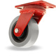 """Rolling Gate Caster Steel Wheels 4/"""" X 1-1//2/"""" Roller Bearings"""