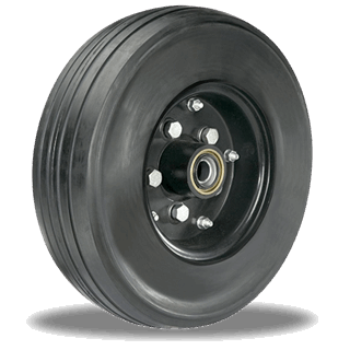 76ff37242807 Heavy Duty Solid Pneumatic Wheels: Capacity: 1,000 - 4,200 lbs ...