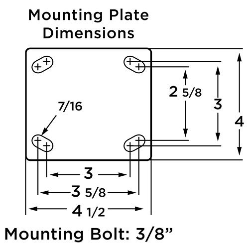 Standard Duty Mounting Plate