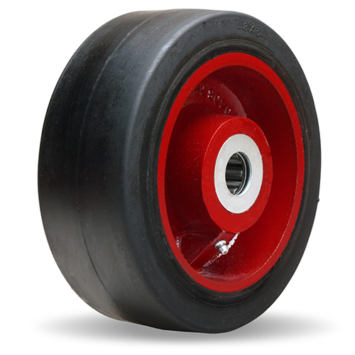 Moldon-Rubber-on-Iron-Metal-Core-Wheel