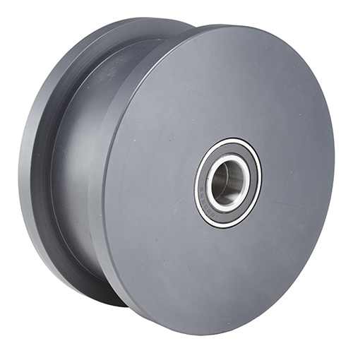 Nylon-Double-Flanged-Track-Wheel