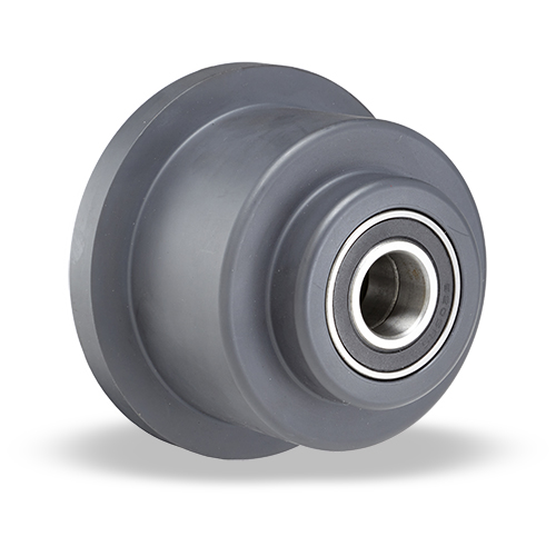 Nylon-Single-Flanged-Track-Wheel