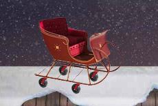 Santa's Sleigh by Hamilton Caster