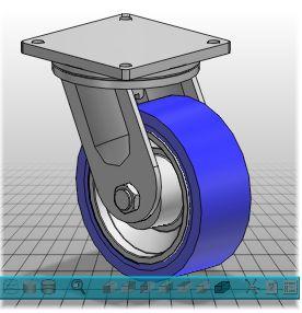 Caster Amp Wheel Cad Models Free Download
